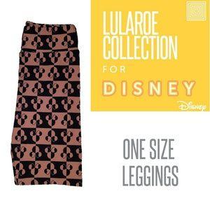 Lularoe minnie Disney OS Leggings